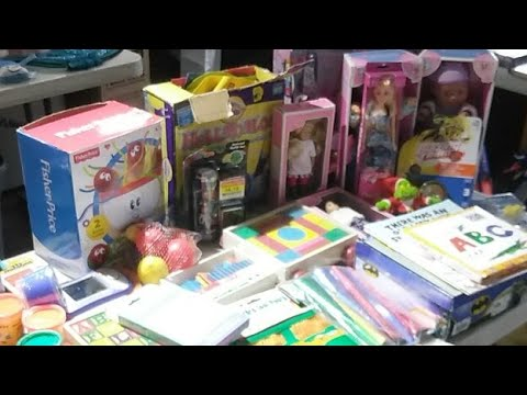 Aundrea's Caring Hands Toy Drive