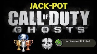"CoD Ghosts ""Jack-Pot"" Achievement / Trophy Guide 