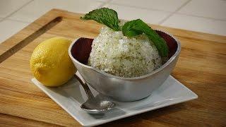 Homemade Italian Ices (Granita)