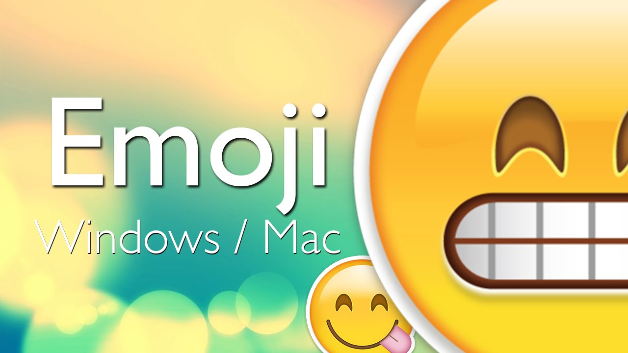 Como Usar Emoji En Windows Y Mac Emoticons De Iphone Ipod Y Ipad Tutorial Chromoji Youtube