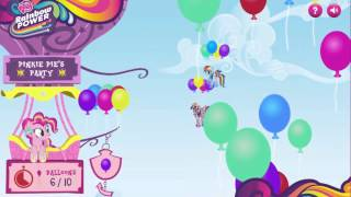 Мульт игра пони, собери шарики онлайн бесплатно