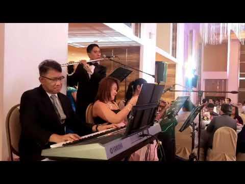 "STRING QUARTET MANILA PHILIPPINES ""Reception Entourage"" WEDDING MUSICIANS BAND MUSIC EVENTS"