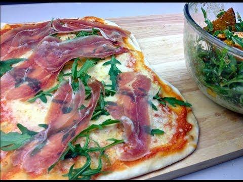 PROSCIUTTO & CHEESE PIZZA