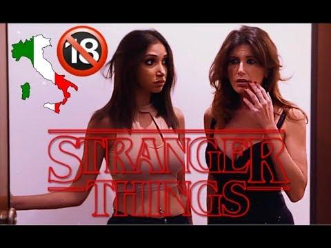STRANGER THINGS IN ITALIA 🇮🇹 🔞
