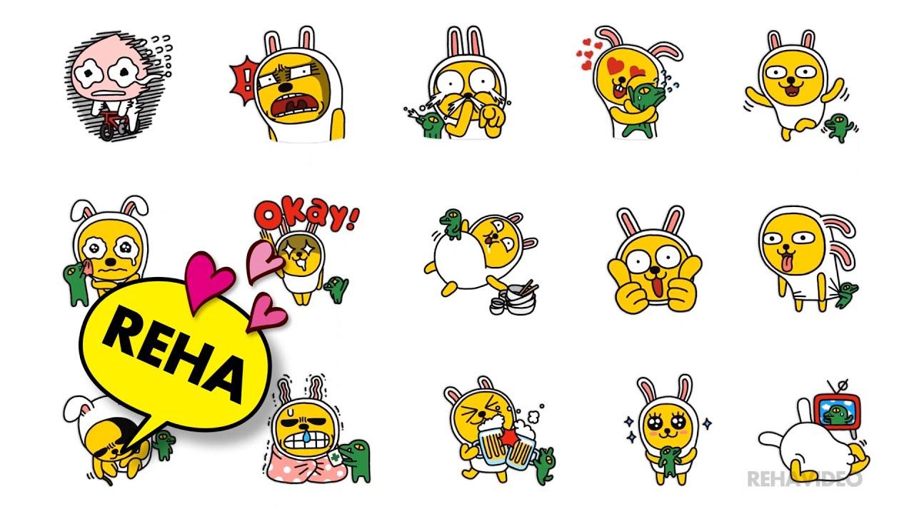 Cute Korean Animated Hd Wallpaper Muzi And Friends Kakao Friends Youtube
