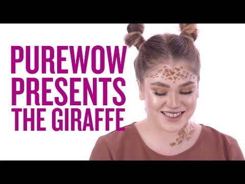 Here's an Adorable and Easy Giraffe Makeup Tutorial to Try This Halloween