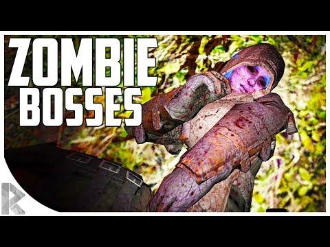 DAY 42 HORDE! - ZOMBIE BOSSES?! - 7DTD Gameplay: WOTW Mod #32