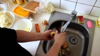 Как почистить картошку: тупо и обычно