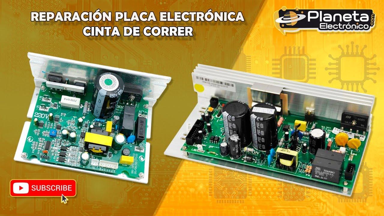 Reparaci n placa electr nica cinta de correr youtube - Reparacion de placas electronicas ...