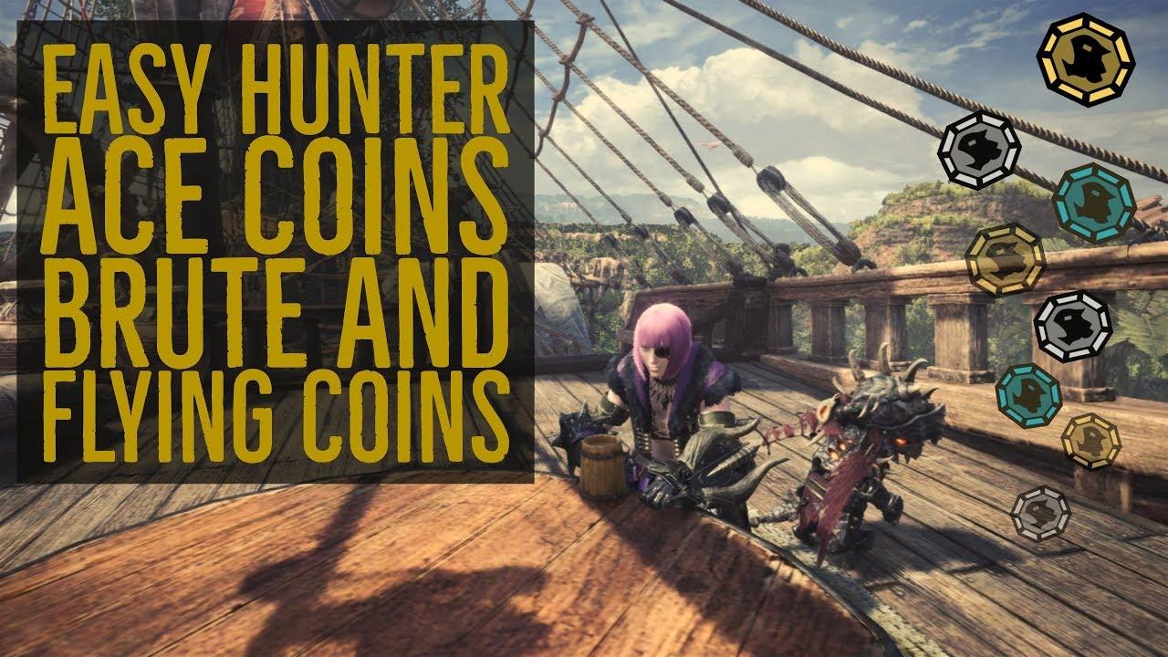 monster hunter world flying coin