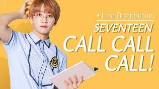 [LINE DISTRIBUTION] SEVENTEEN - CALL CALL CALL! (Japan debut) [FIXED VERSION]