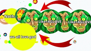 Agar.io Best Team And Solo Revenge Agar.io Best Moments Mobile!