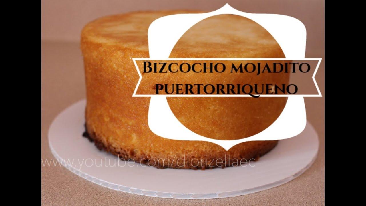 bizcocho puertorriqueno con brandy