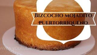 Como Hacer un Bizcocho Mojadito Puertorriqueño//Boricua Cake Diorizella Events and Crafts