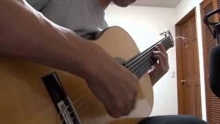 My favorite things - Nylon String Jazz Guitar Solo