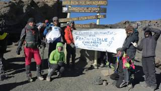 WOULD ANYONE LIKE A CHANCE TO CLIMB MT KILIMANJARO IN 2018/19???