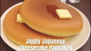 Japanese fluffy pancakes jiggly japanese cheesecake pancakes how to make pancakes simple cooking videos ccuart Choice Image