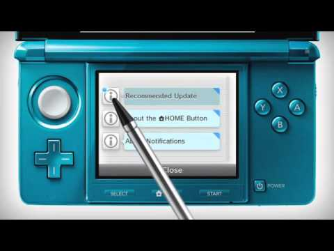 3DS: How To Update Your Nintendo 3DS System (Tutorial)