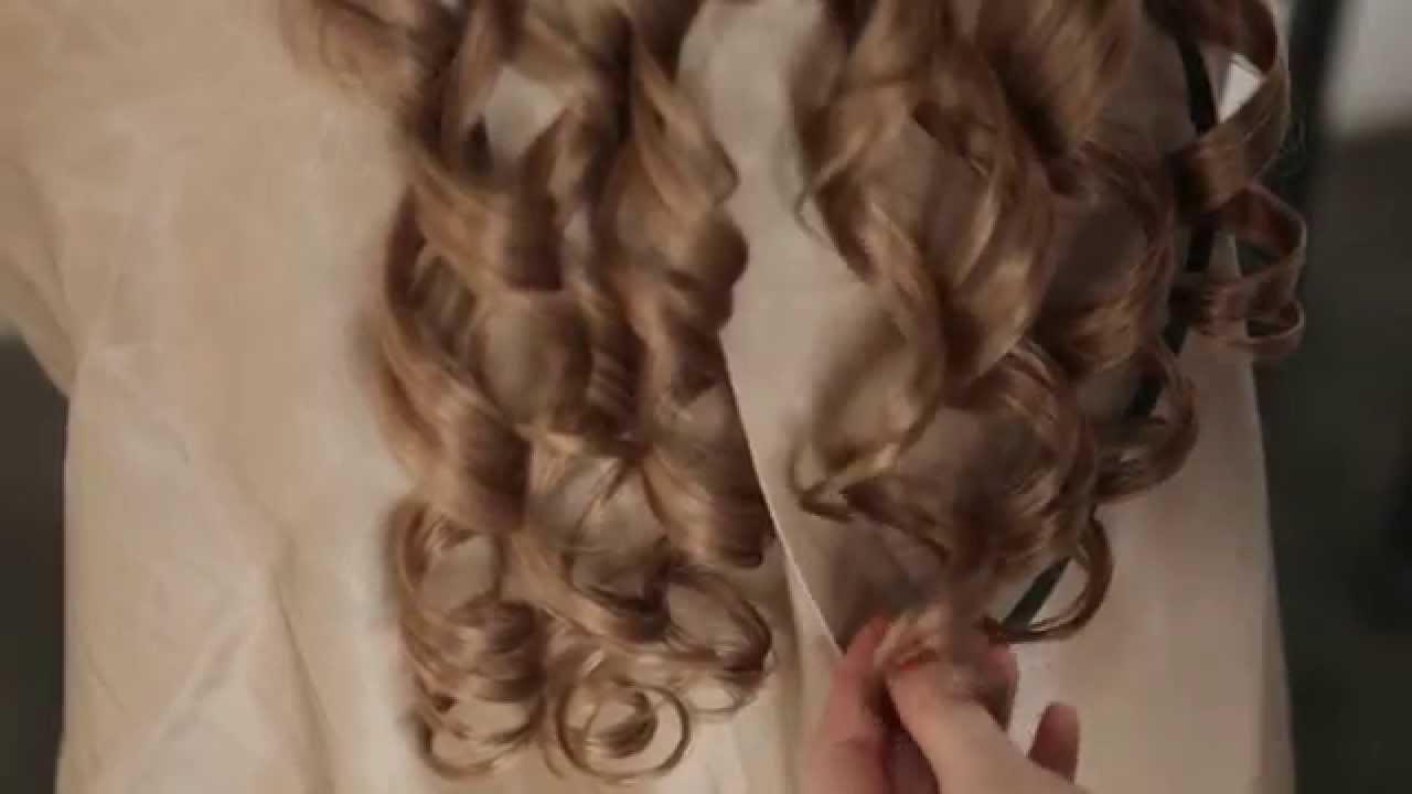 инструкция крепления волос на заколках