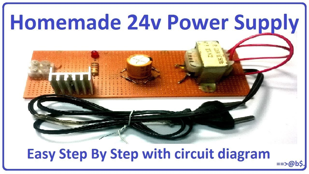 How To Make 24v Power Supply