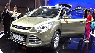 2016, 2017 Ford Kuga SUV launched on the Chinese car market Ford Kuga 2016, 2017 model