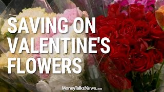 Saving on Valentines Flowers