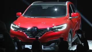 Renault Kadjar 2015 - видео с официальной презентации нового внедорожника(Renault Kadjar (Рено Каджар) - видео запись с официальной презентации нового внедорожника! Премьера состоялась..., 2015-02-04T11:57:12.000Z)