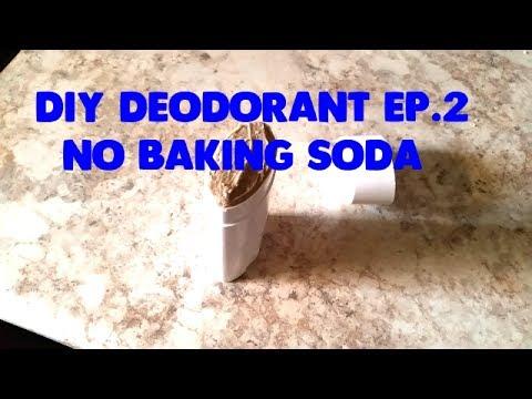 DIY | Homemade Deodorant No 2| No Baking Soda | w/DE
