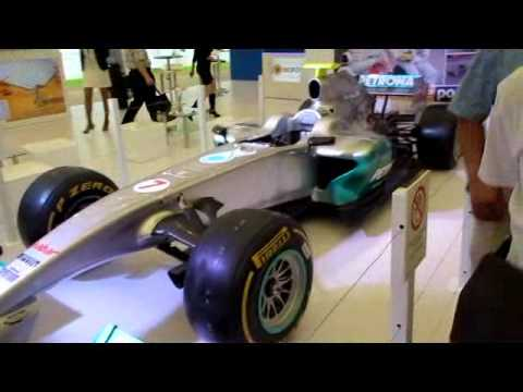 F1 Michael Schumacher-SOLAR POWER GREEN CAR SOLAR POWER PV EXPO