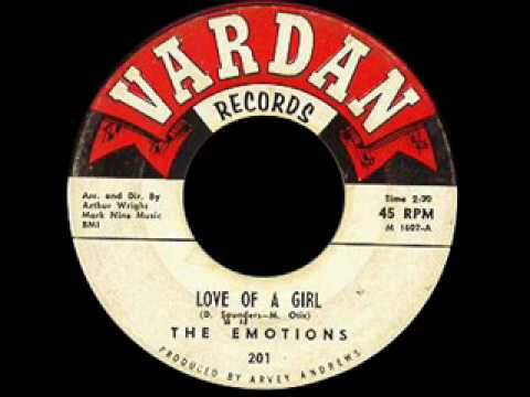 The Emotions - Love Of A Girl