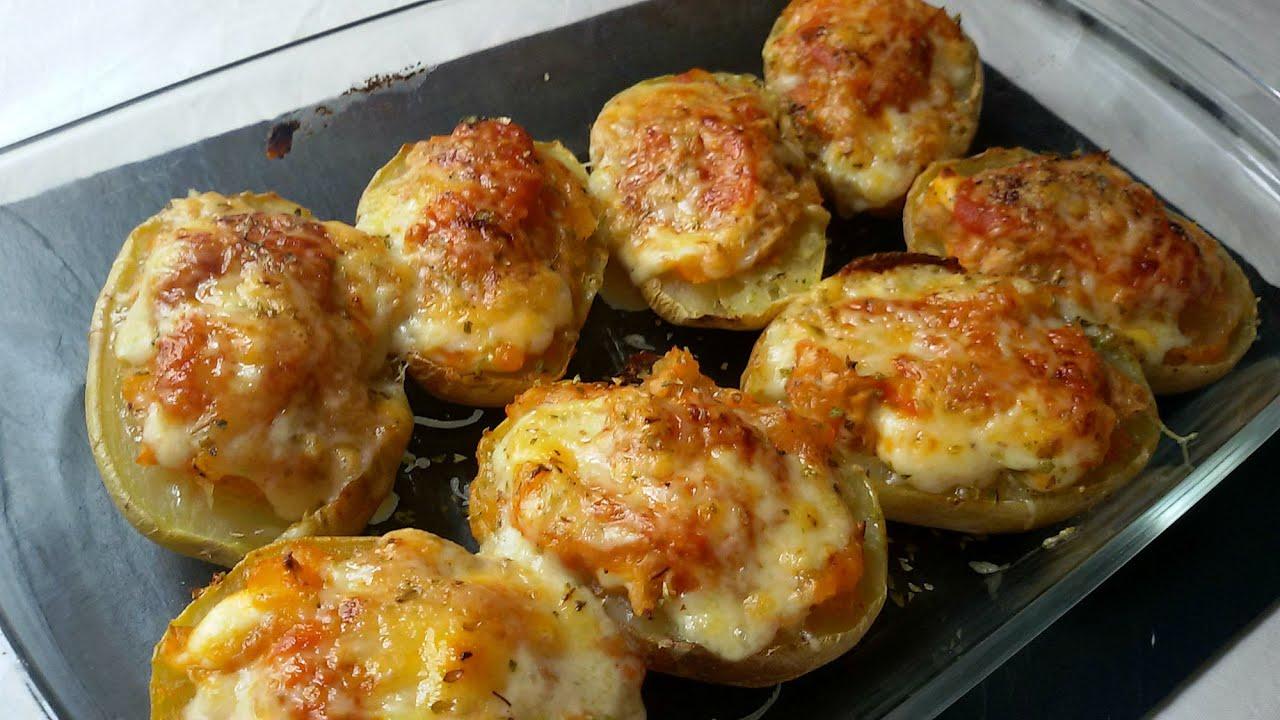 Patatas rellenas de at n youtube - Platos faciles de hacer ...