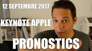 Keynote Apple - iPhone 8, iPhone pro, iPhone édition, Apple Watch 3 ... ?