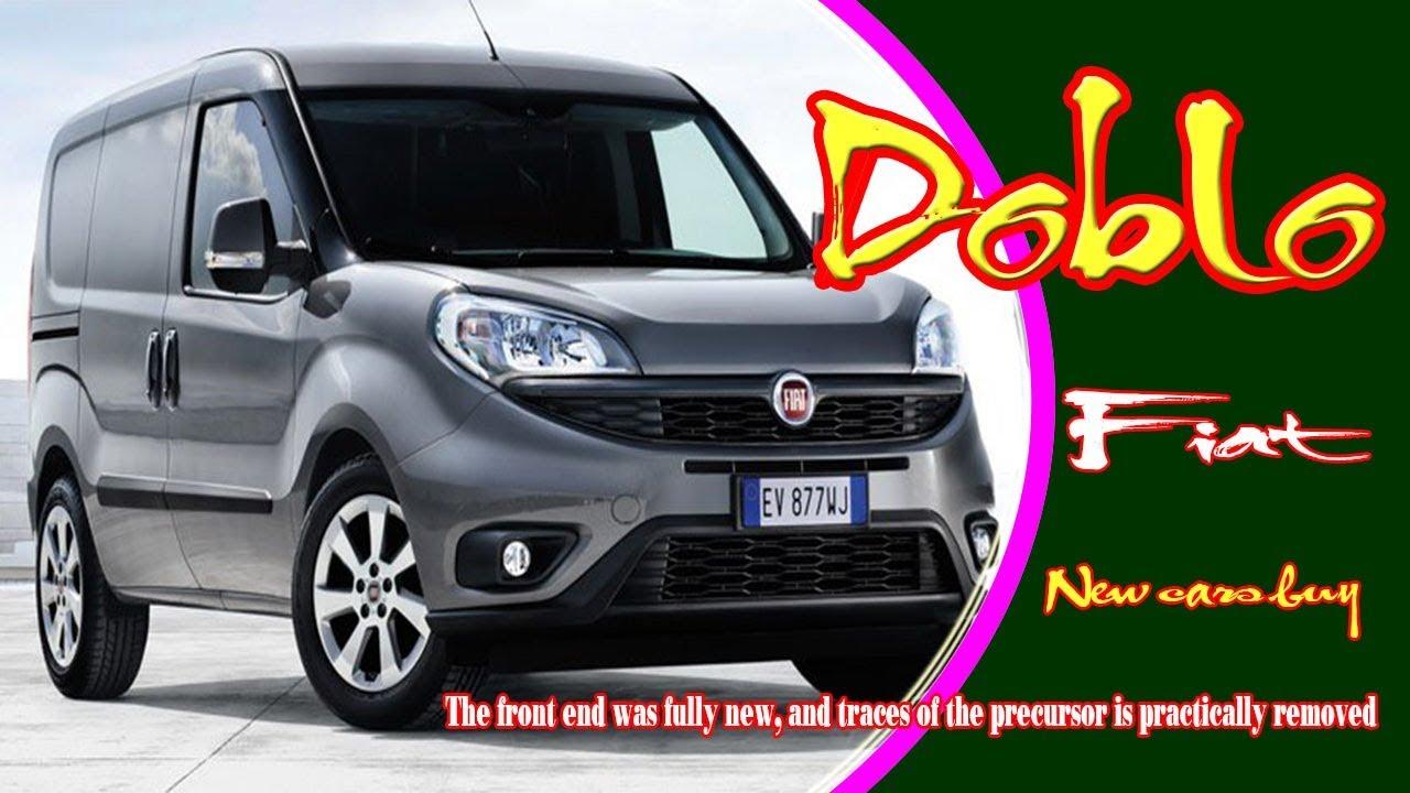 2019 Fiat Doblo 2019 Fiat Doblo Van 2019 Model Fiat Doblo