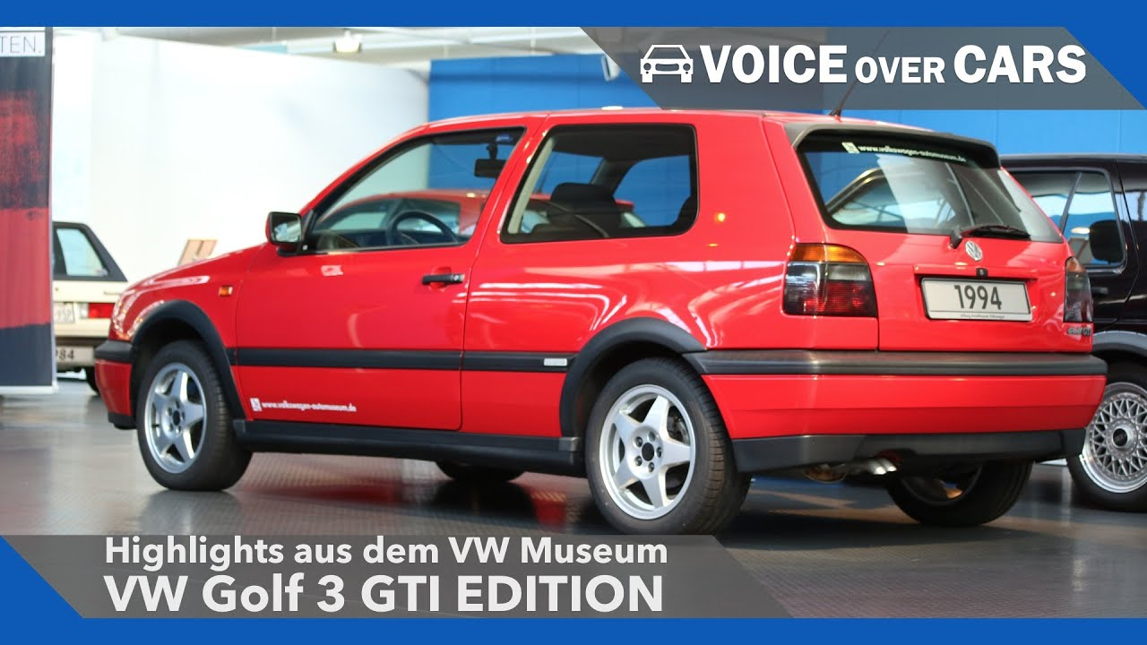 vw golf 3 gti edition vw museum highlights 2016 voice. Black Bedroom Furniture Sets. Home Design Ideas