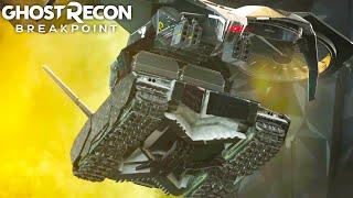 TAKING DOWN THE FIRST TITAN in Ghost Recon Breakpoint Titan Free Roam