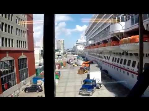 Carnival Dream RAW: Leaving New Orleans