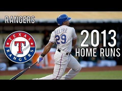 Texas Rangers   2013 Home Runs (176)