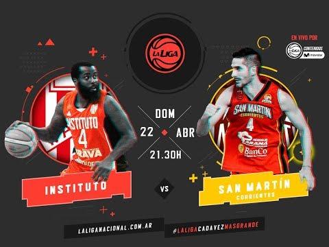 Liga Nacional: Instituto vs. San Martín | #LaLigaEnTyCSports