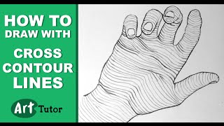 How to Draw With Cross Contour Lines