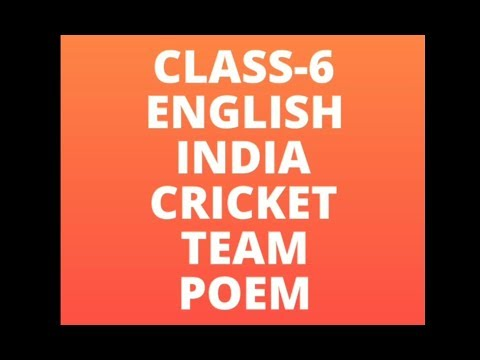 Ten Poems About Cricket