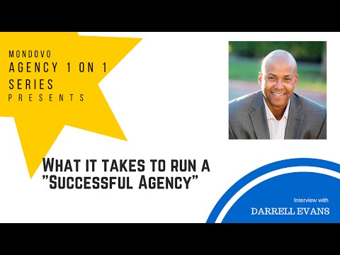 What it takes to run a successful agency by Darrell Evans - Co-Founder of Yokel Local