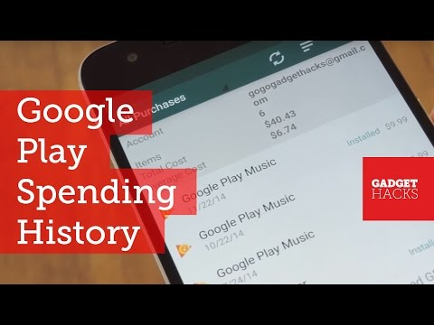 See How Much Money You've Spent on Google Play [How-To]