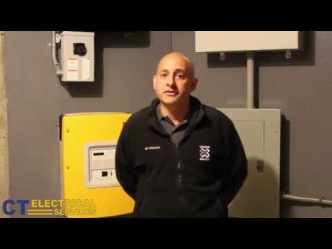 Battery Backup Generator and PV System - Burlington, CT