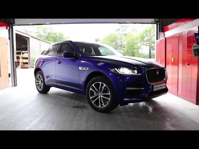 2019 Jaguar F Pace Rear Entertainment | Rosen AV8900H | CBS Automotive