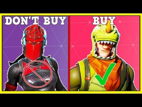 EVERY LEGENDARY SKIN (Buy Or Don't Buy?) | Fortnite Battle Royale!