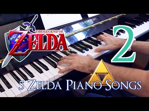 "🎵 [2/2] Five ""The Legend of Zelda"" Piano Songs ~ Played by Moisés Nieto"