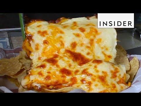 Cheesy Grilled Nachos
