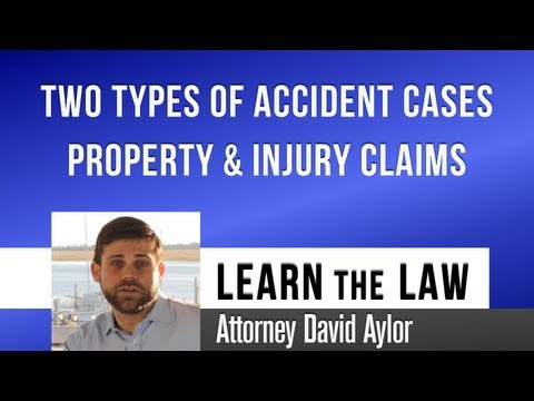 Two Types of Accident Claims | Charleston SC Injury Attorney | Charleston Accident Lawyer