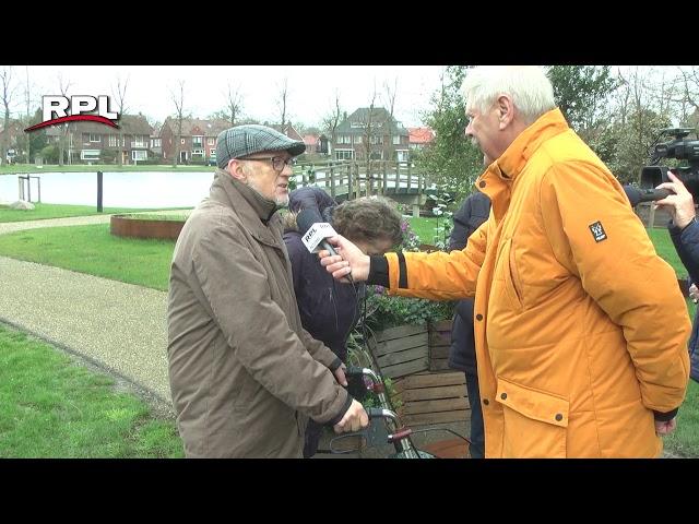Plaquette in Westdampark voor 50 jaar Scouting Woerden