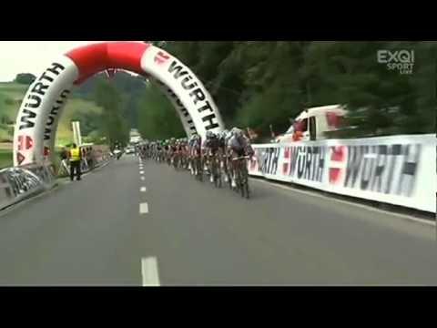 Tour de Suisse stage 4 final km